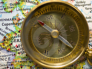 Compass Stock Photography - Image: 8110152