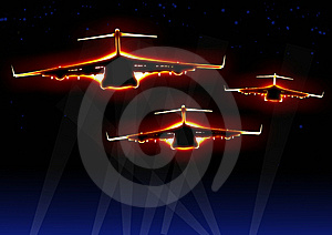 Conveyance Airplane Royalty Free Stock Photos - Image: 8110648