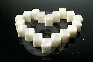 Sugar Heart Stock Images - Image: 8110874