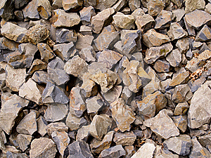 Multiple Broken Flint Rocks Background Stock Images - Image: 8111434