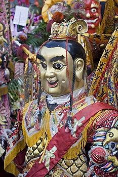 Chinese Gods Royalty Free Stock Photography - Image: 8111687