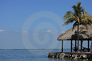 Caribbean Cabana Stock Photo - Image: 8111930