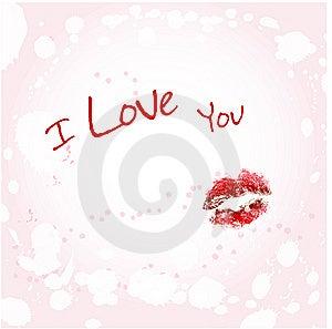 I Love You Stock Image - Image: 8112421