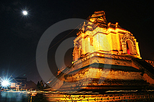 Night At The Temple Stock Images - Image: 8113004