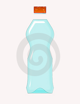 Water Bottle Royalty Free Stock Photos - Image: 8113428