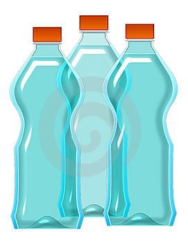 Water Bottles Stock Image - Image: 8113471