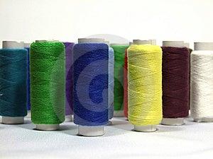 Varicoloured Threads Royalty Free Stock Photo - Image: 8113875