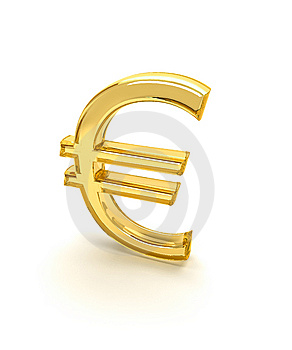 Euro Symbol 3d Stock Photo - Image: 8114460