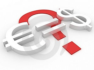 True Euro Cost Stock Images - Image: 8114784