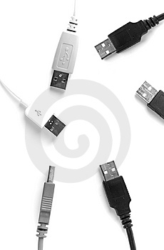 Usb Cable Royalty Free Stock Photo - Image: 8115025