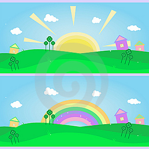 2 Banners For St. Patrick's Day. Royalty Free Stock Photos - Image: 8115548