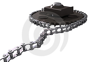 Chain Drive Royalty Free Stock Photography - Image: 8118317