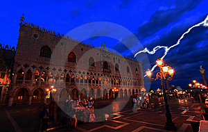 The San Marco Plaza Venice Stock Photos - Image: 8119193