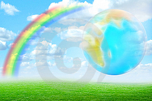 Rainbow Stock Photo - Image: 8119870