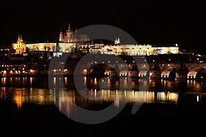 View Of Prague Stock Image - Image: 8120761