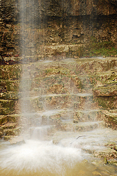 Steps Of The Falls Stock Photography - Image: 8122962