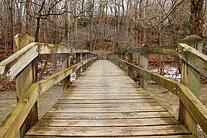 Wooden Bridge Stock Photography - Image: 8123002