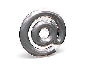Email Symbol. Royalty Free Stock Images - Image: 8123749
