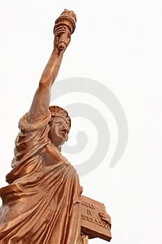 Replica Of The Statue Of Liberty Royalty Free Stock Photos - Image: 8125358