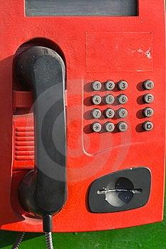 Stationary Telephone Royalty Free Stock Image - Image: 8126226