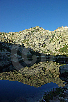 Corsica Landscape - Restonica Royalty Free Stock Image - Image: 8126366