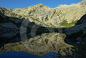 Corsica Landscape - Restonica Royalty Free Stock Image - Image: 8126386