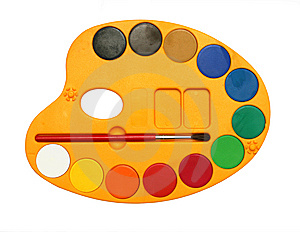 Water Colors Royalty Free Stock Photo - Image: 8127285