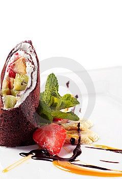 Chocolate Pancakes Stock Photos - Image: 8128173