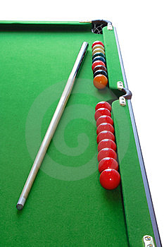 Snooker Table Royalty Free Stock Photo - Image: 8128265