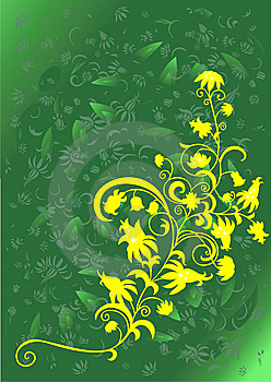 Abstract Floral Ornament And Background Royalty Free Stock Photos - Image: 8128428