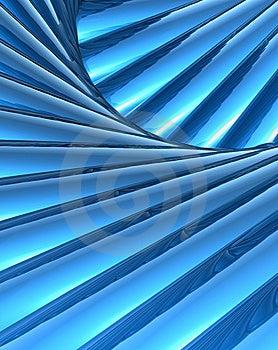 Blue Volume Stock Image - Image: 8128981