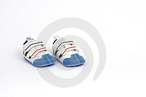 Tiny And Cute Child's Shoes Royalty Free Stock Photography - Image: 8130217