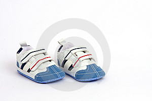 Tiny And Cute Child's Shoes Stock Image - Image: 8130241