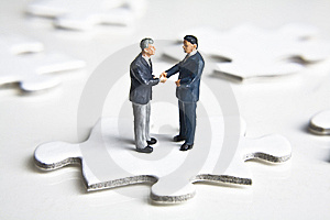 Putting The Pieces Together Stock Photo - Image: 8130480