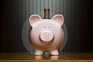 Piggy Bank Royalty Free Stock Photo - Image: 8130535