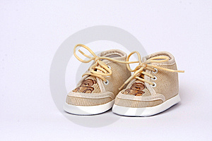 Sweet Little Footwear Royalty Free Stock Photography - Image: 8130857