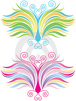 Stylized Butterfly Royalty Free Stock Image - Image: 8131336