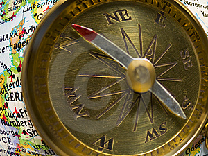Compass Royalty Free Stock Photo - Image: 8131535