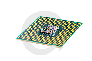 Macro Of Cpu Processor Stock Photos - Image: 8133693