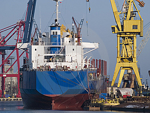 Shipyard Royalty Free Stock Images - Image: 8134029