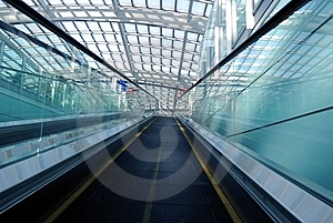 Escalator Stock Image - Image: 8134901