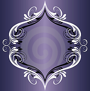 Abstract Floral Frame Stock Photography - Image: 8135652