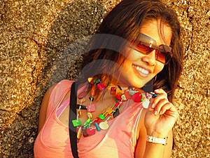 Indian Model Stock Photography - Image: 8136322