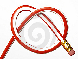 Pencil Heart Stock Image - Image: 8137181