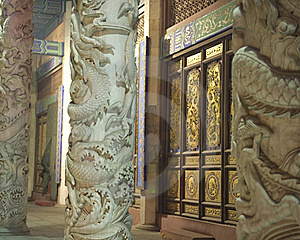Front Of Temple Gate Stock Images - Image: 8137204