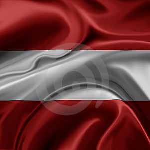Austria Flag Stock Image - Image: 8137921