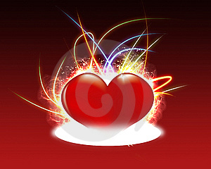 Magic Heart Stock Photo - Image: 8138940
