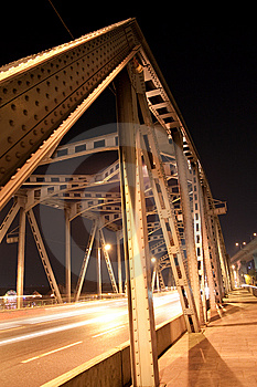 Bridge At Night. Stock Photos - Image: 8139523
