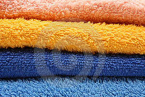 Towels Royalty Free Stock Photos - Image: 8140128