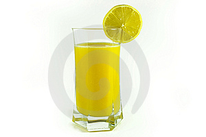 Orange Juice And Lemon Cut Piece Stock Photo - Image: 8140200